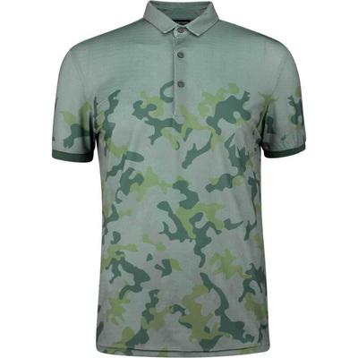 Galvin Green EDGE Golf Shirt Kommendor Camo Green 2019
