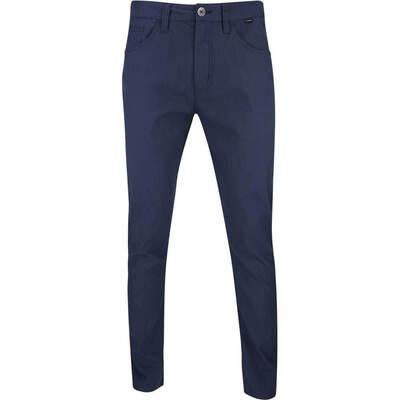 TravisMathew Golf Trousers Trifecta Chino Blue Nights SS19
