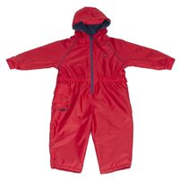 Hippychick Fleeced Lined Child's All in One Suit Red - 18-24 Months