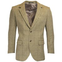 Walker & Hawkes Mens Windsor Light Sage Tweed Country Blazer / Jacket - 38