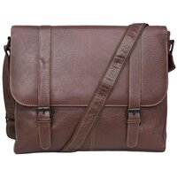 Woodland Leather Tribal High Grade Satchel Messenger Bag - Tribal