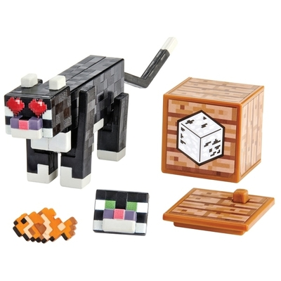 Minecraft Comic Maker Tuxedo Cat Action Figure