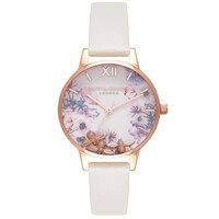 Busy Bee's Midi Watch - Nude & Rose Gold