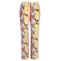 Aileen Trousers - Floral Wallpaper