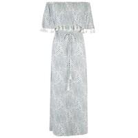 Pari Maxi Dress - Silver