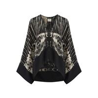 Paradise Short Kimono - Black