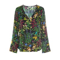 Dolce Exclusive Silk Top - Marry Black