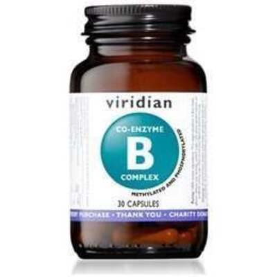 Viridian Co-Enzyme B-Complex 30 Capsules