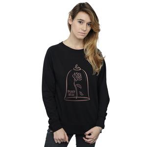 disney princess women's princess rose gold sweatshirt