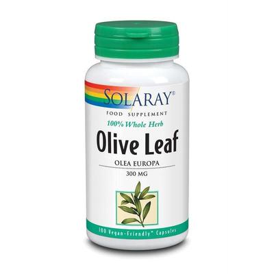 Solaray Olive Leaf 300mg 100 Capsules