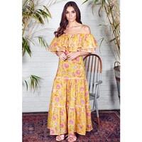 Cala Maxi Dress - Sunflower