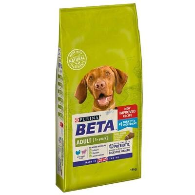 Purina Beta Adult Turkey & Lamb Dog Food