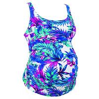 Anita Hatutu Two-Piece Maternity Tankini And Bikini Brief Swimwear Set