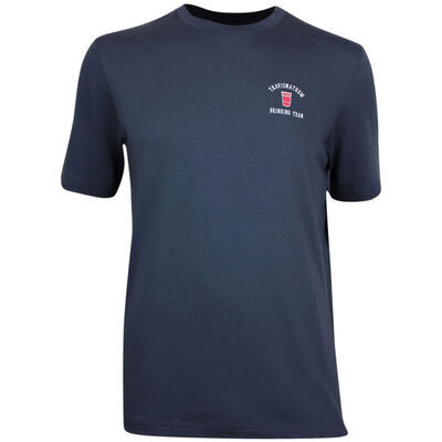 TravisMathew Golf T Shirt Bromerica Blue Nights SS19