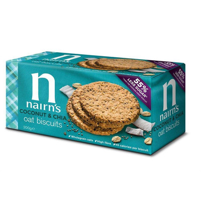 Nairn's Coconut & Chia Oat Biscuit 200g