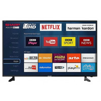 """Image of Sharp 40"""" Ultra HD 4K Smart TV with Freeview HD Freeveiw Play & Netflix Wifi"""