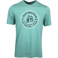 TravisMathew Golf T-Shirt - Crispy Boy - Heather Green SS19
