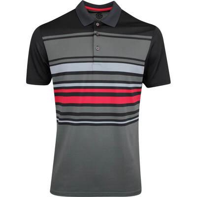 Galvin Green Golf Shirt Miguel Black AW19