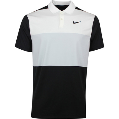 Nike Golf Shirt Vapor Colour Block Pure Platinum AW19