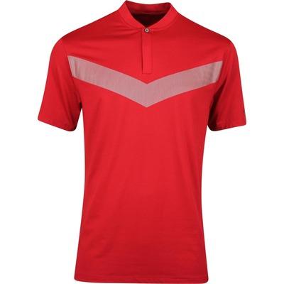 Nike Golf Shirt TW Vapor Reflective Blade Gym Red AW19