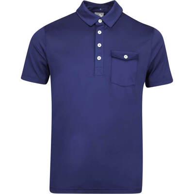 PUMA Golf Shirt Donegal Polo Peacoat LE AW19