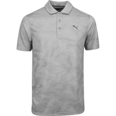 PUMA Golf Shirt Alterknit Camo Quarry AW19