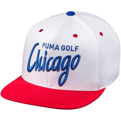 PUMA Golf Cap Chicago City Snapback White 2019