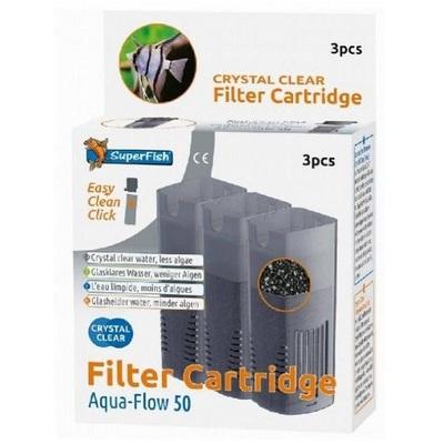 SuperFish AquaFlow Crystal Clear Cartridge