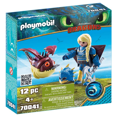Playmobil DreamWorks Dragons Astrid With Hobgobbler