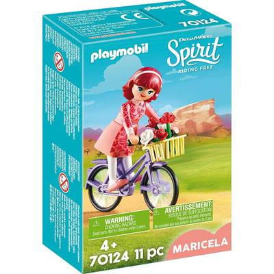 Playmobil DreamWorks Spirit Maricela With Bicycle