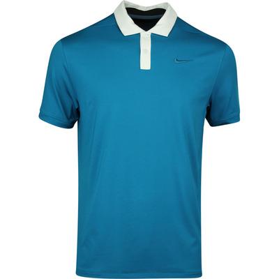Nike Golf Shirt Vapor Solid Green Abyss AW19