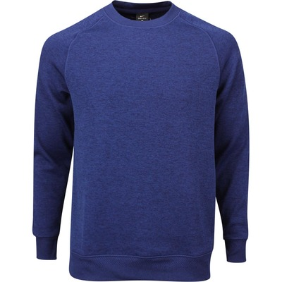 Nike Golf Jumper NK Dry Knit Crew Blue Void AW19