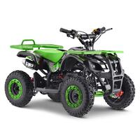 Image of FunBikes Ranger 50cc Green Kids Petrol Mini Quad Bike