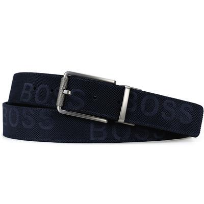 BOSS Golf Belt Tintin Reversible Navy White SP20