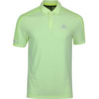 Image of adidas Golf Shirt - Sport Aero Ready Polo - Solar Yellow SS20