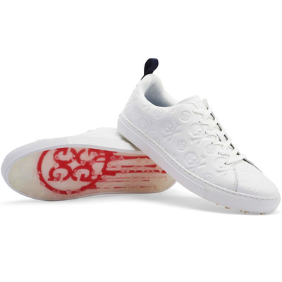 GFORE Golf Shoes Skull Ts Embossed Disruptor Snow 2020