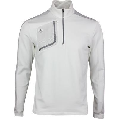 Galvin Green Golf Pullover Dwight Insula White SS20