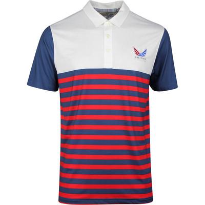 PUMA Golf Shirt Volition Allegiance Polo Dark Denim SS20