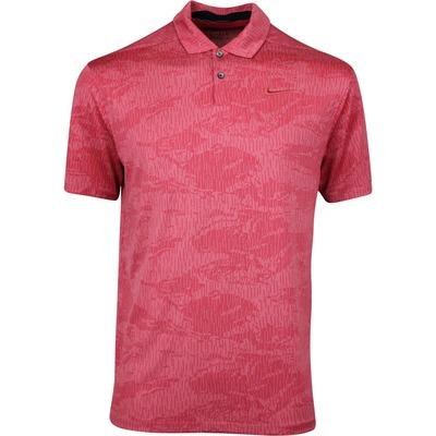 Nike Golf Shirt NK Dry Vapor Camo Jacquard Sierra Red SS20