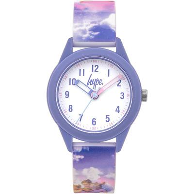 Kids Angel Rainbow Skies Soft Touch Watch