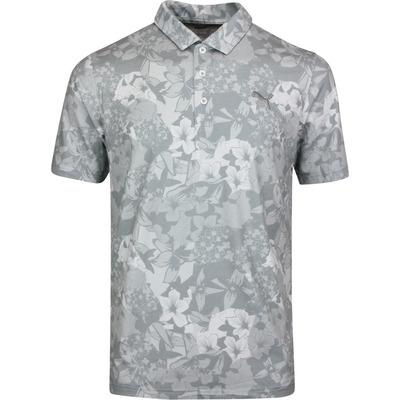 PUMA Golf Shirt TournAMENt Polo Quarry Print LE SS20