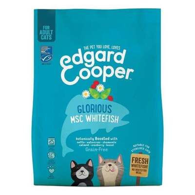 Edgard & Cooper MSC Whitefish for Adult Cats 1.75kg