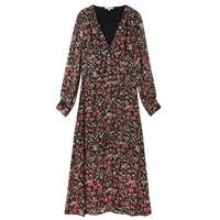Wren Dress - Black Jasmine