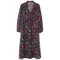 70s Maxi Dress - Black Jasmine