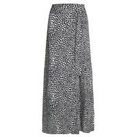 Bobo Printed Wrap Skirt - Lovely Love