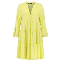 Ella Short Cotton Dress - Lime