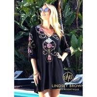 Madrid Tunic Top - Black