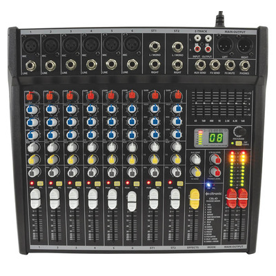 Compact 10 Input Mixing Console with DSP