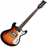 Danelectro 66 Electric Guitar 6 String 3 Tone Sunburst