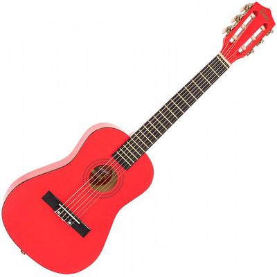 1/2 Junior Acoustic Guitar Pack Metallic Red